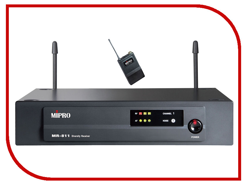 Радиомикрофон MIPRO MR-811/MT801a
