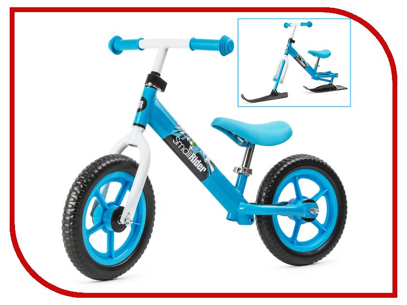 Беговел Small Rider Combo Racer Blue-White с лыжами и колесами