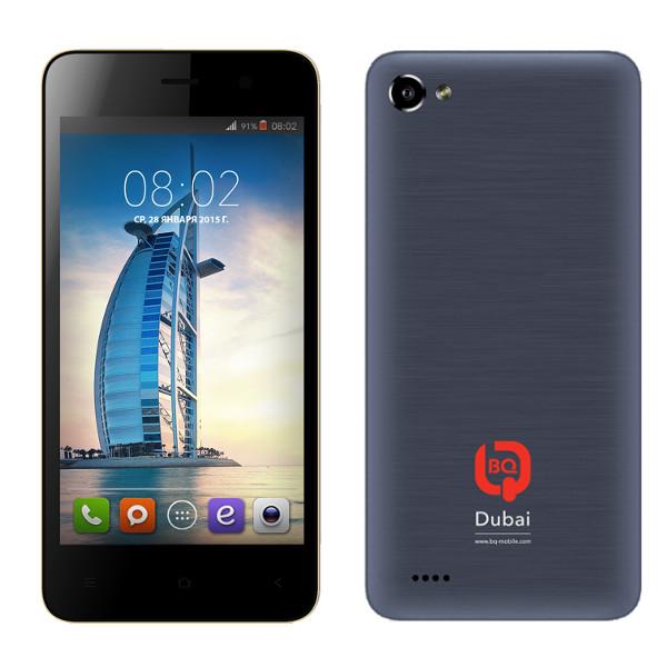Сотовый телефон BQ BQS-4503 Dubai Silver<br>