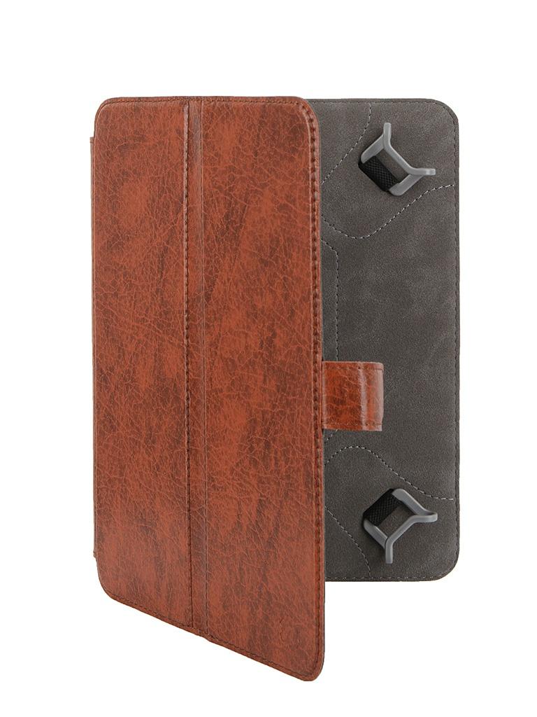 Аксессуар Чехол-книжка Norton 7.85-inch универсальный, с уголками Brown