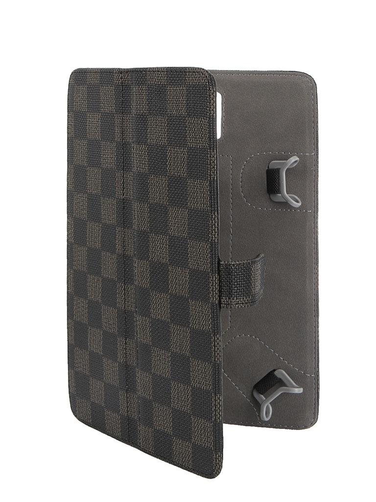Аксессуар Чехол-книжка Norton 8-inch универсальный, с уголками Black-Brown