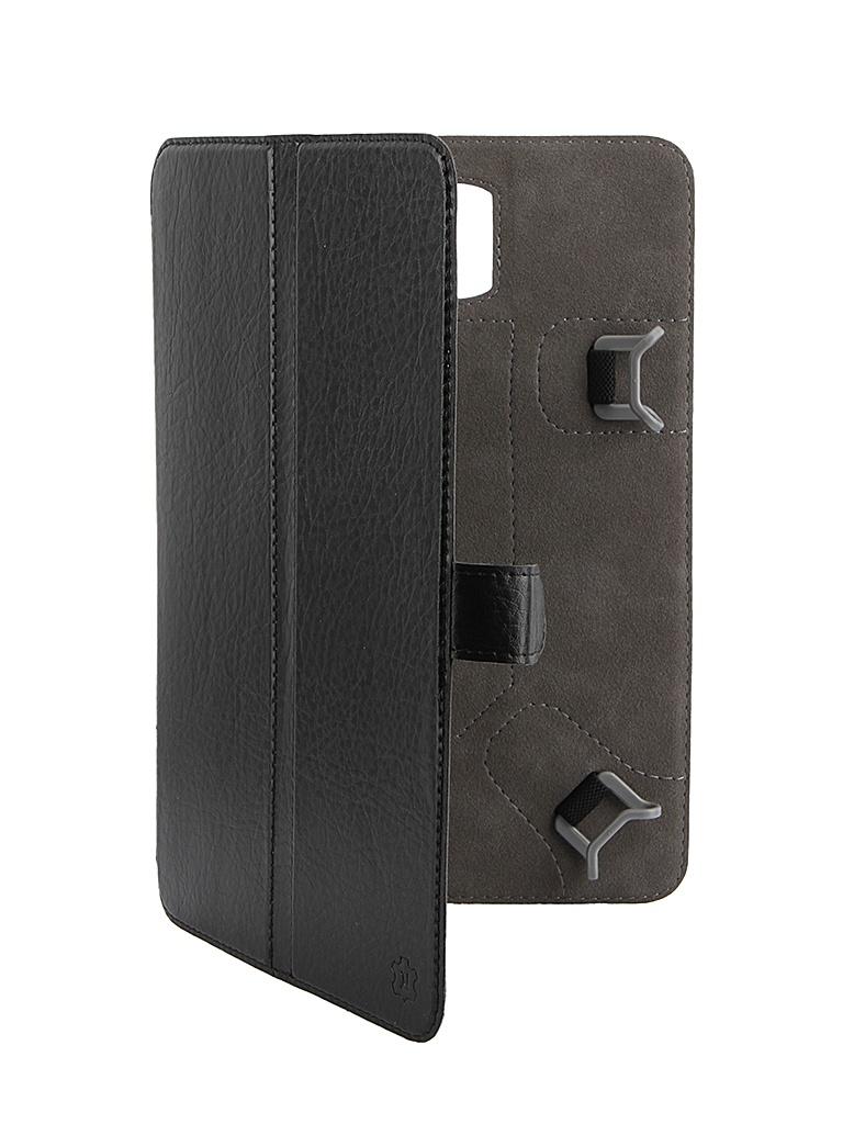 Аксессуар Чехол-книжка Norton 8-inch универсальный, с уголками Black