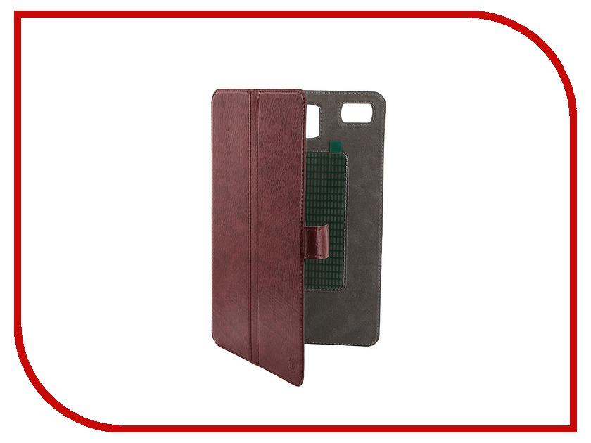 Аксессуар Чехол-книжка Norton Ultra Slim 8-inch универсальный, на клейкой основе 2017x136mm Bordo