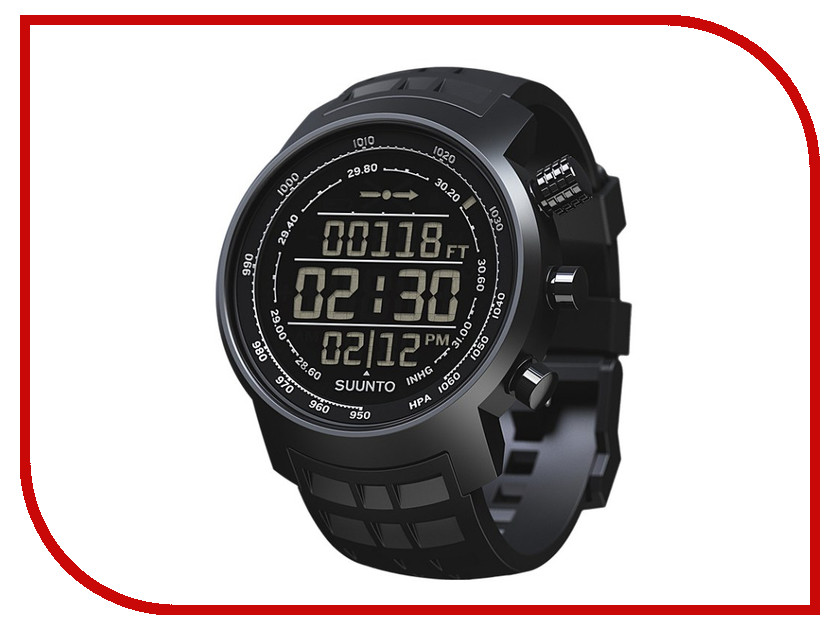 Часы наручные цифровые Suunto Elementum Terra All Black N/Black SS016979000