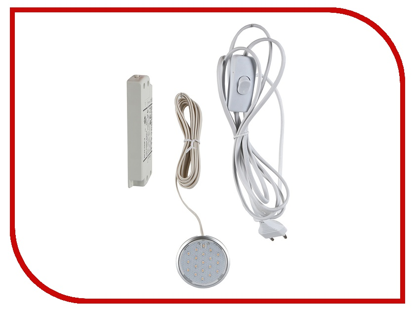 Светильник GLS 19-12-3LED 3200K G13990 Silver<br>