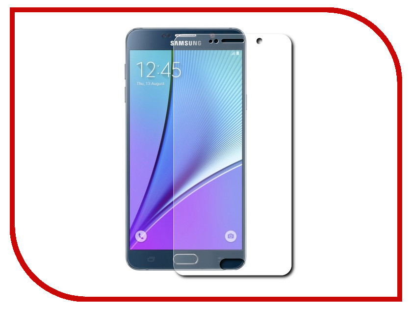 все цены на Аксессуар Защитное стекло Samsung Galaxy Note 5 Ainy 0.33mm онлайн