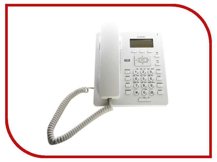 VoIP оборудование Panasonic KX-HDV100RU voip телефон panasonic kx nt511arub