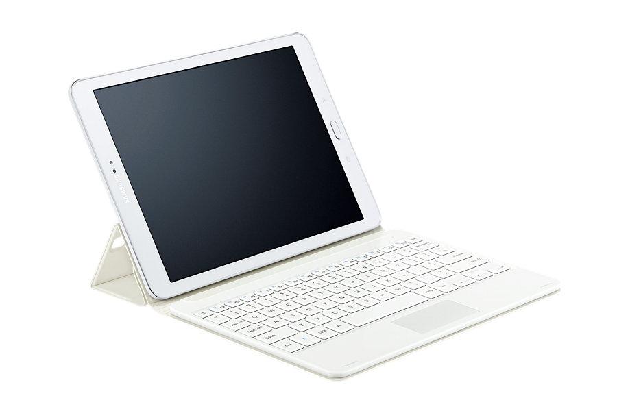 Аксессуар Чехол-обложка с клавиатурой Samsung Galaxy Tab S2 9.7 EJ-FT810RWEGRU White
