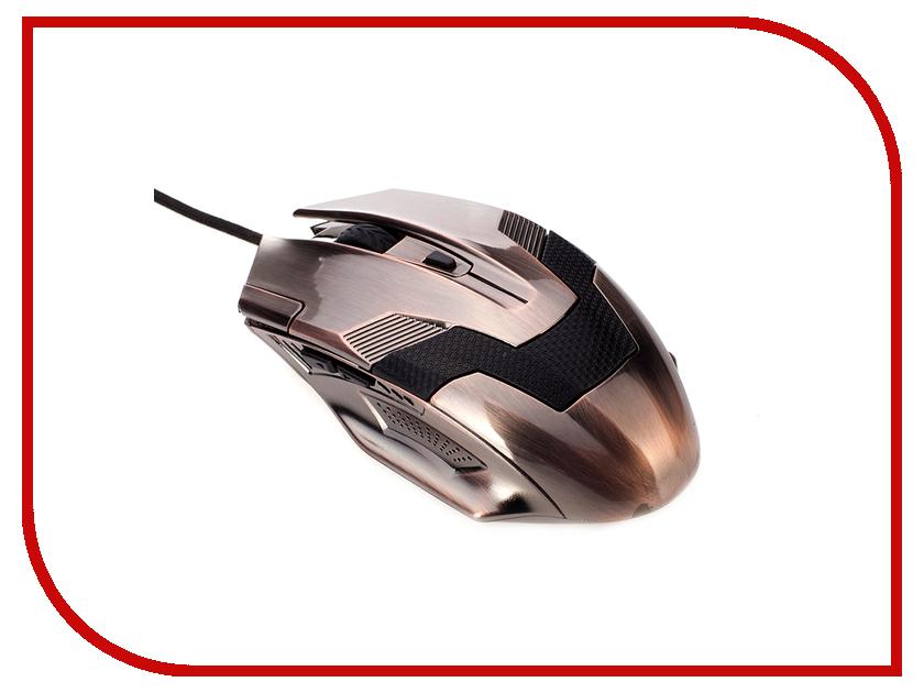 Мышь проводная 3Cott 3C-WMG-302C Skull Crawler Copper<br>