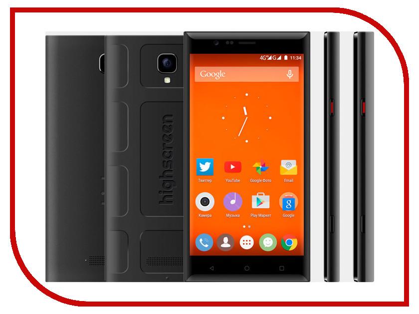 Сотовый телефон Highscreen Boost 3 Pro Black<br>