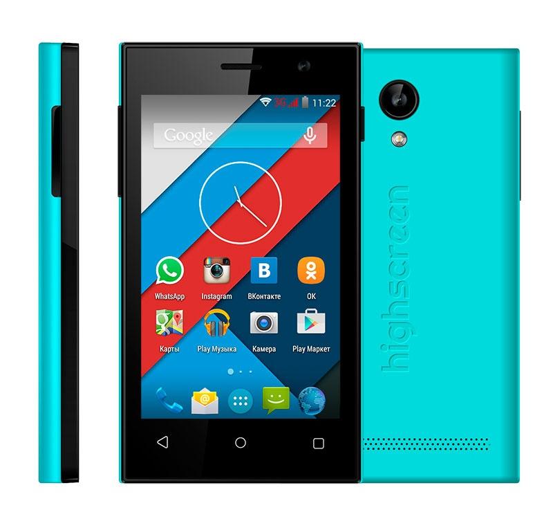 Сотовый телефон Highscreen Pure J Blue<br>