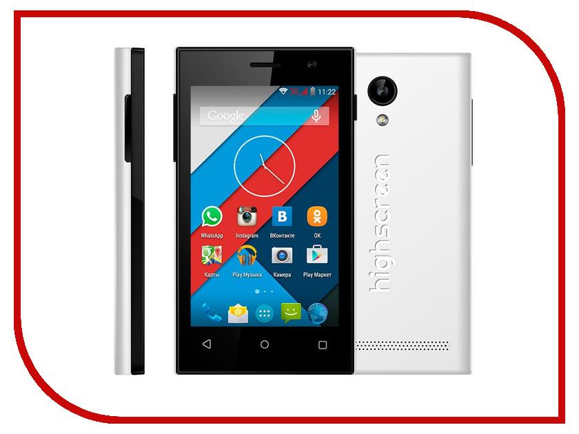 Сотовый телефон Highscreen Pure J White