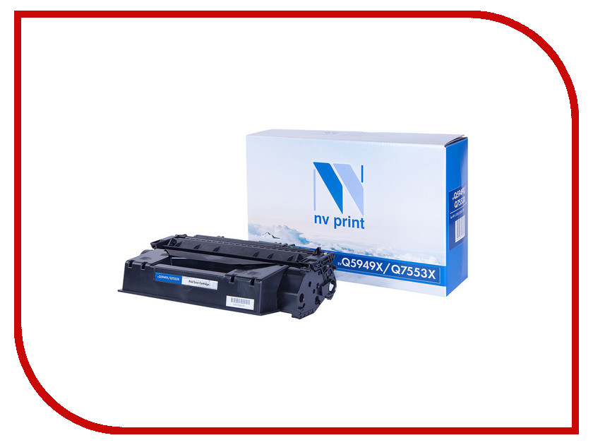Картридж NV Print Q5949X / Q7553X для LJ 1320/3390/3392/P2014/P2015/M2727 10set x rc1 3609 000 rc1 3610 000 bushing pressure roller for hp 1160 1320 2420 2430 3390 p2014 p2015 m2727 m3027 m3035 p3005