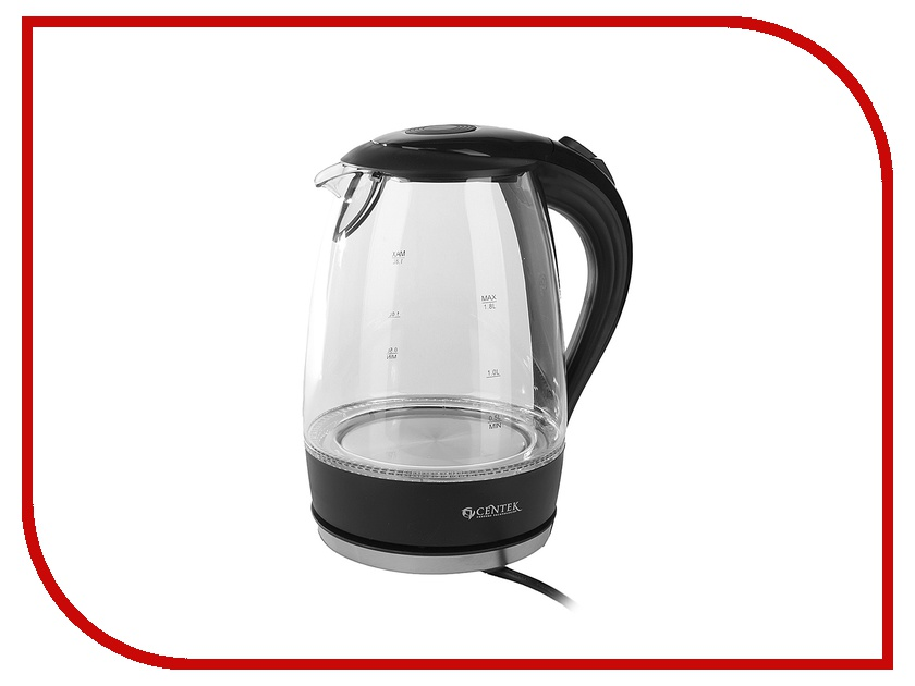 Чайник CENTEK CT-0042 Black<br>