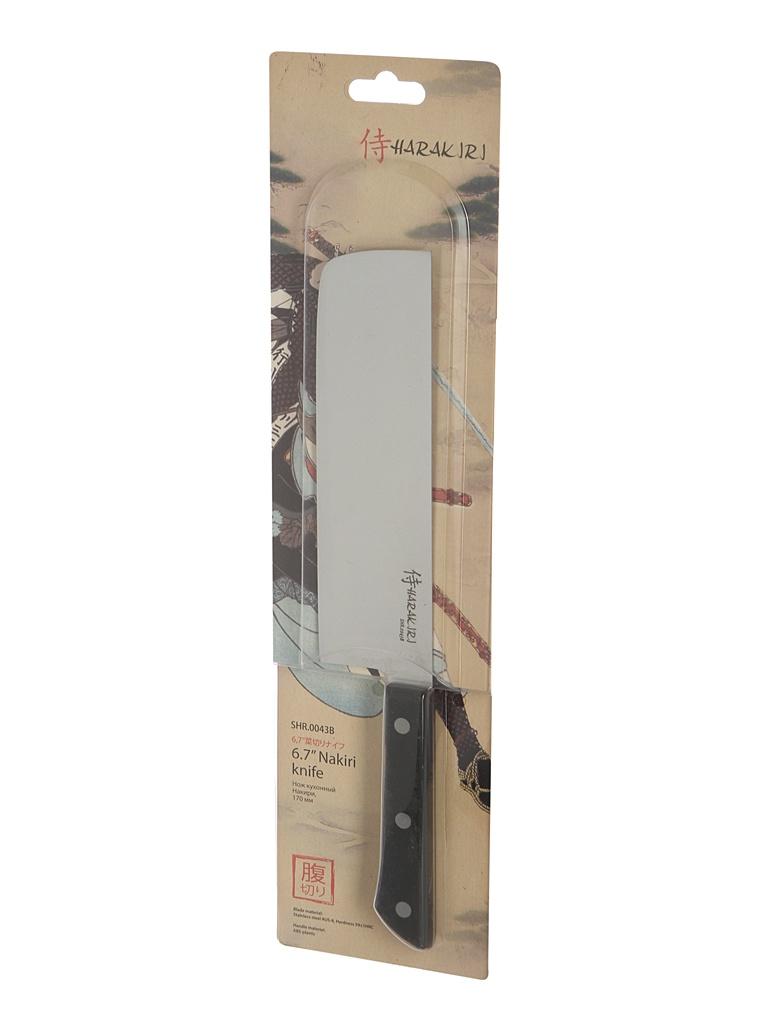 Нож Samura Harakiri SHR-0043B - длина лезвия 161мм нож samura harakiri shr 0011w длина лезвия 99мм