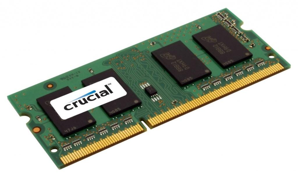 Модуль памяти Crucial DDR3L SO-DIMM 1600MHz PC3-12800 - 8Gb CT102464BF160B