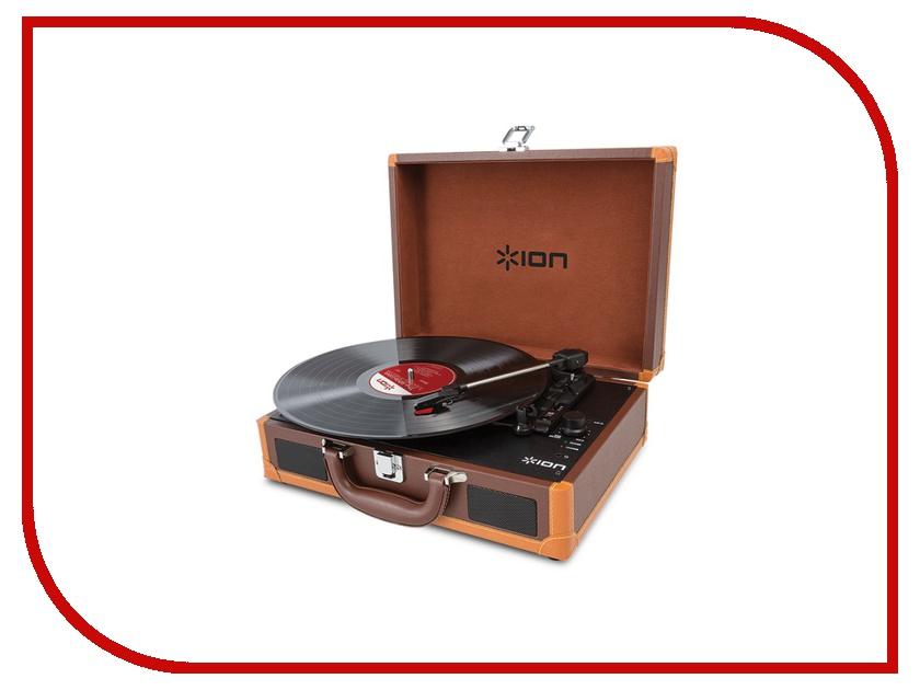 Проигрыватель виниловых дисков ION Audio Motion Deluxe Brown<br>