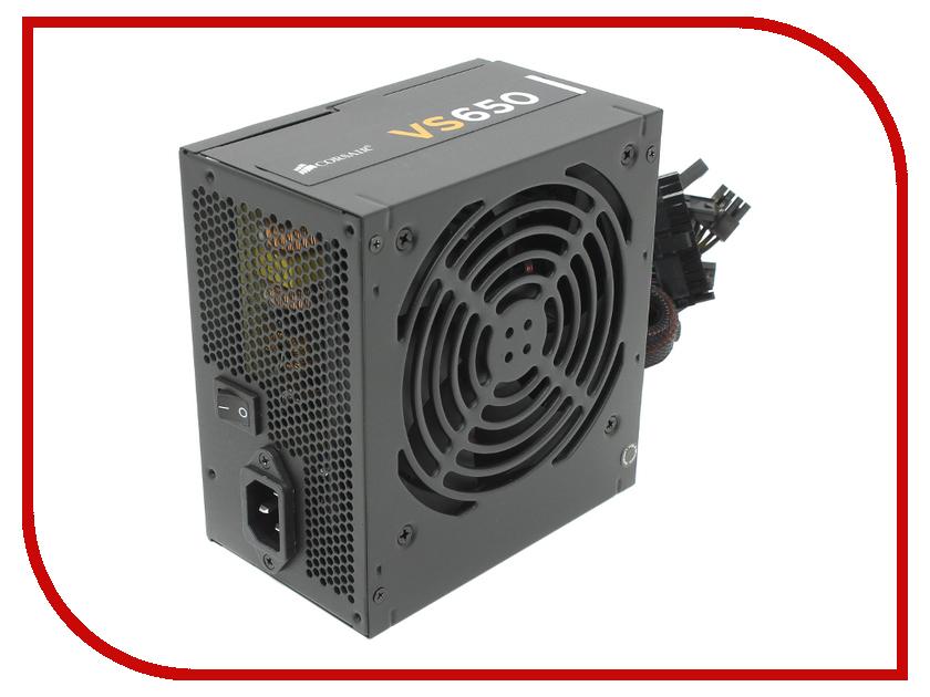 Блок питания Corsair VS650 650W CP-9020098-EU<br>