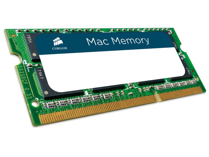 Модуль памяти Corsair Mac DDR3 SO-DIMM 1600MHz PC3-12800 - 8Gb CMSA8GX3M1A1600C11