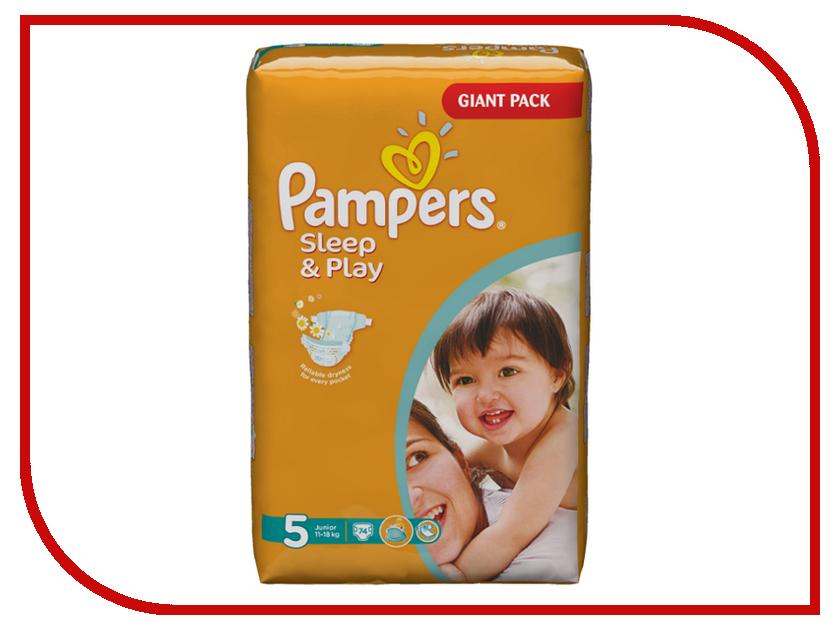 Подгузники Pampers Sleep & Play Junior 11-18кг 74шт 4015400354314 4015400686101 pampers