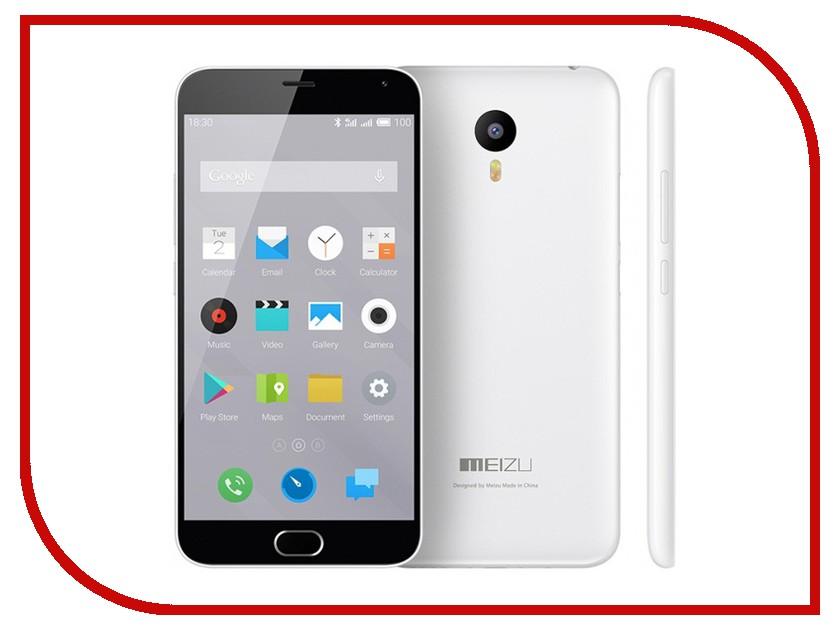 Сотовый телефон Meizu M2 Note 16Gb White<br>