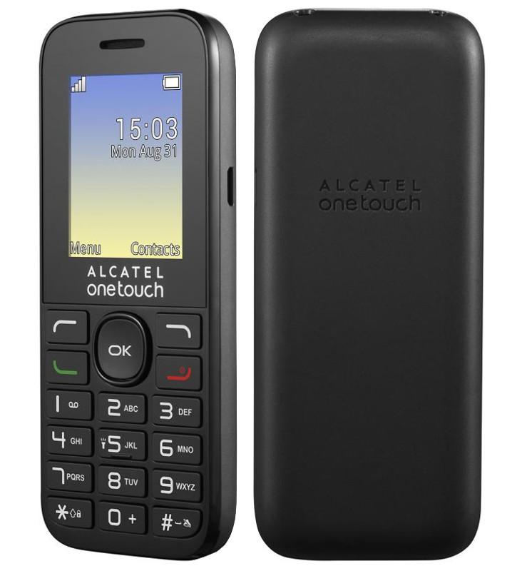 Сотовый телефон Alcatel OneTouch 1016D Black Volcano Black<br>