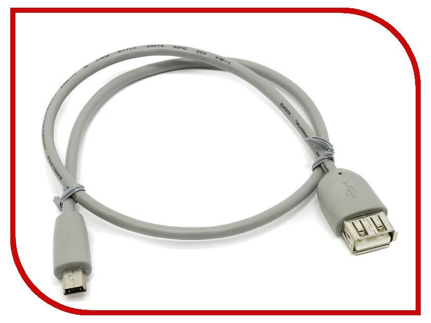 Аксессуар Belsis mini USB - USB A 0.5m BW1422<br>
