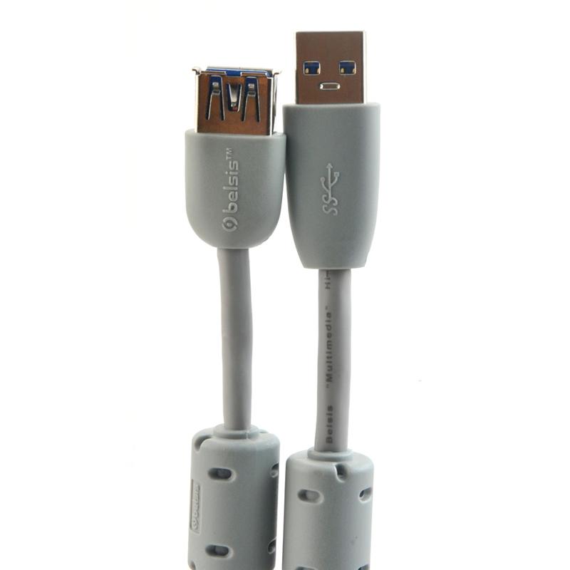 Аксессуар Belsis USB - USB A 1.8m BW1406