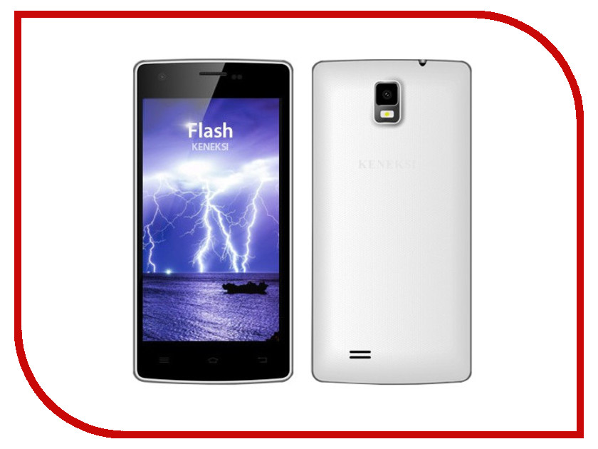 Сотовый телефон KENEKSI Flash White<br>