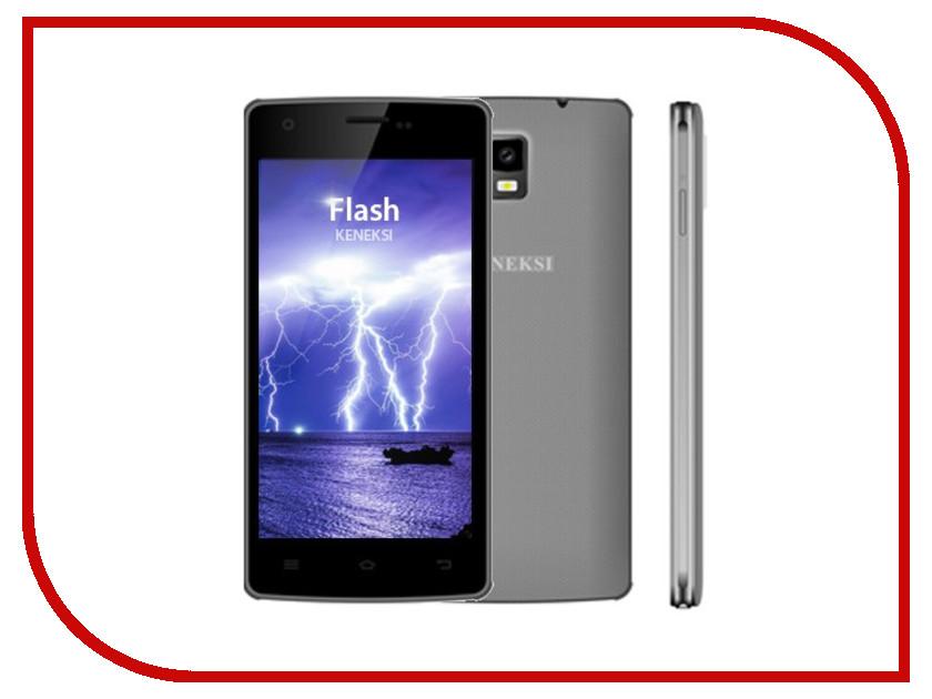 Сотовый телефон KENEKSI Flash Grey<br>