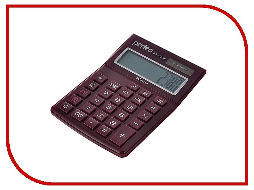 Калькулятор Perfeo GS-2380-R Red<br>