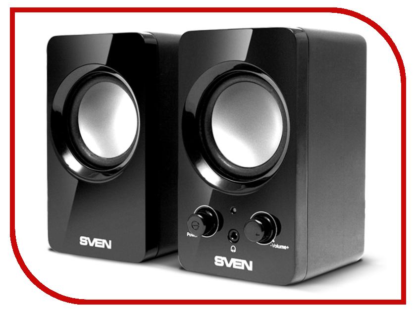колонки и акустические системы 354  Колонка Sven 354 Black SV-0120365BL