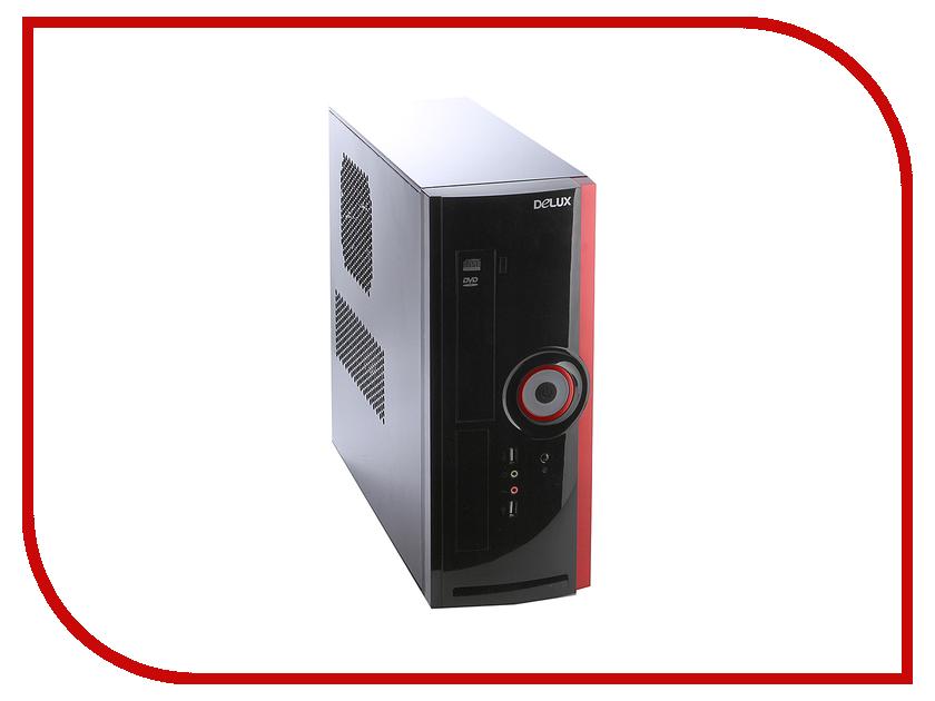 Корпус Delux Minitower DLC-116 400W Black