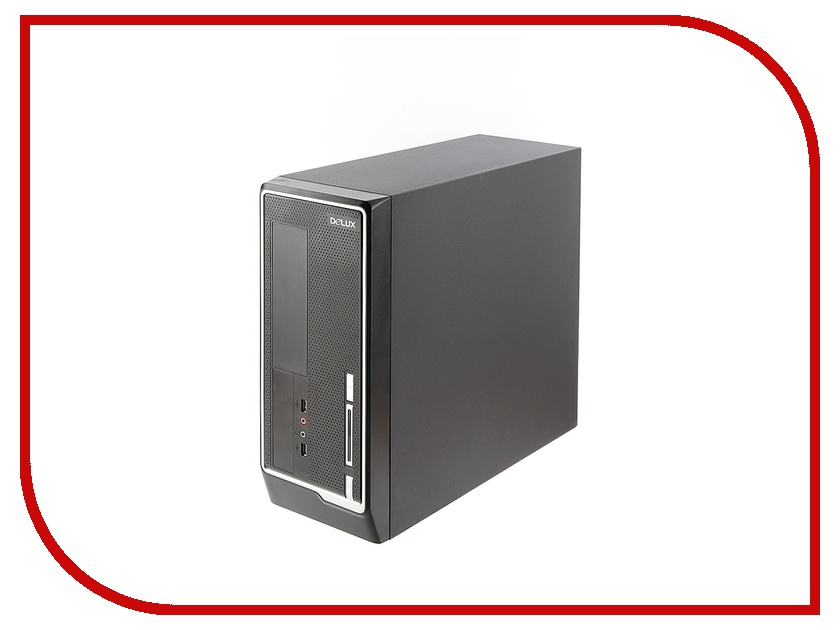 Корпус Delux Minitower DLC-118 400W Black