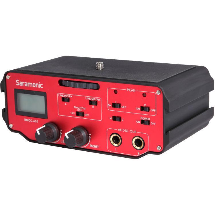 Аудио-адаптер Saramonic BMCC-A01