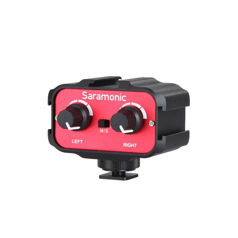 Аудио-адаптер Saramonic SR-AX100