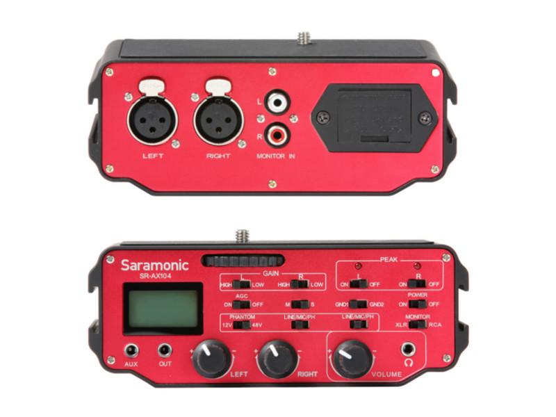 Микрофон Saramonic SR-AX104 цена