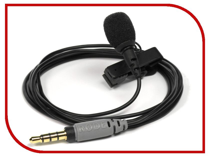 Микрофон Rode SmartLav+ адаптер rode micon 5 для rode hs1 pinmic lavalier xlr