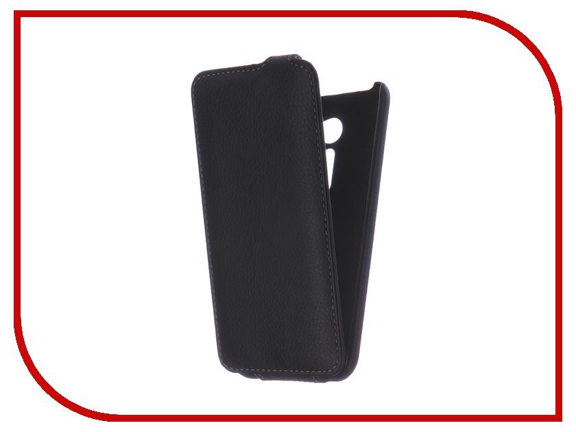 Аксессуар Чехол ASUS ZenFone 2 ZE500CL 5.0 Ainy кожаный Black<br>