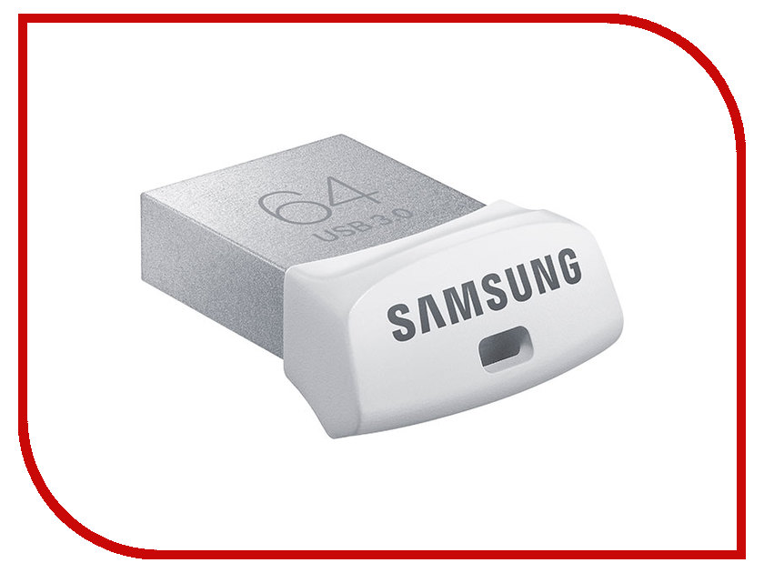 USB Flash Drive 64Gb - Samsung FIT USB 3.0 MUF-64BB/APC<br>