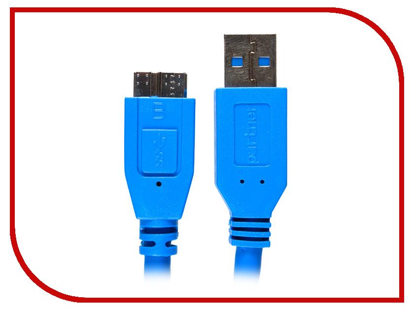 Аксессуар Partner USB - microUSB 1m ПР032047<br>