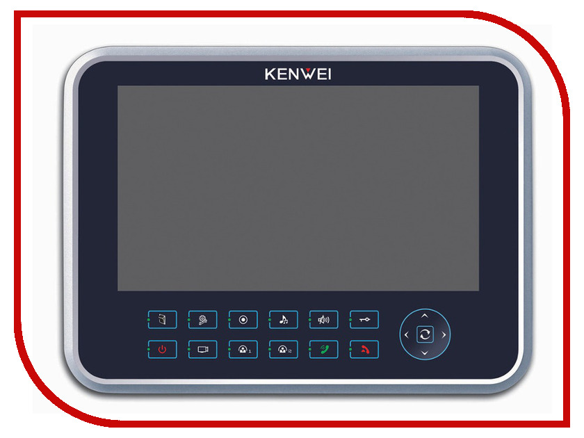 Видеодомофон Kenwei KW-129C-W200