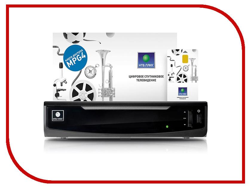 Комплект спутникового телевидения НТВ+ HD SIMPLE 2 (IPTV+SAT) + 600 рублей на счет без антенны<br>