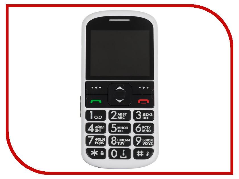 Сотовый телефон Ginzzu R12D White