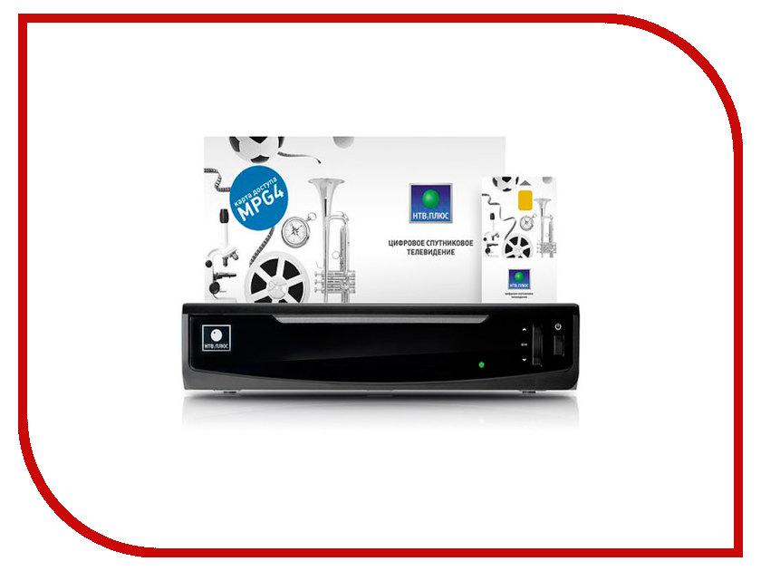 Комплект спутникового телевидения НТВ+ HD SIMPLE 2 (IPTV+SAT) + 600 рублей на счет