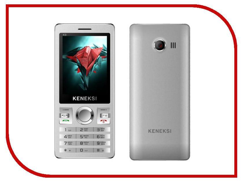 Сотовый телефон KENEKSI K9 Silver