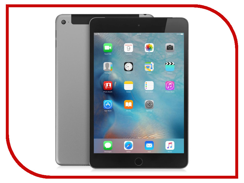 Планшет APPLE iPad mini 4 16Gb Wi-Fi + Cellular Space Gray MK6Y2RU/A<br>