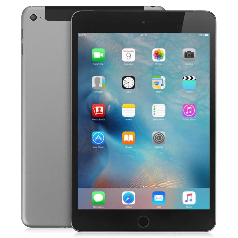 Планшет APPLE iPad mini 4 128Gb Wi-Fi + Cellular Space Gray MK762RU/A планшет apple ipad mini 4 128gb 7 9 retina 2048x1536 a8 ios space gray серый mk9n2ru a