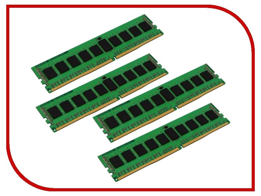 Модуль памяти Kingston DDR4 DIMM 2133MHz PC4-17000 CL15 - 32Gb KIT (4x8Gb) KVR21R15D8K4/32