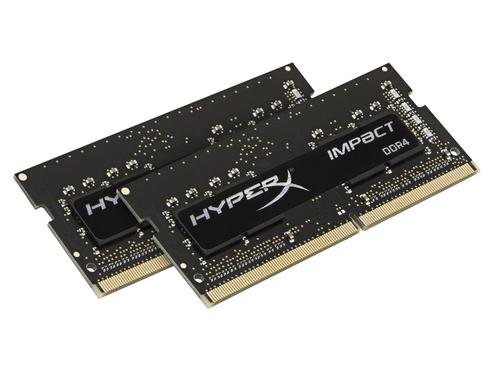 Модуль памяти HyperX HX424S14IBK2/8 DDR4 SO-DIMM 2400MHz PC4-19200 CL14 - 8Gb KIT (2x4Gb)